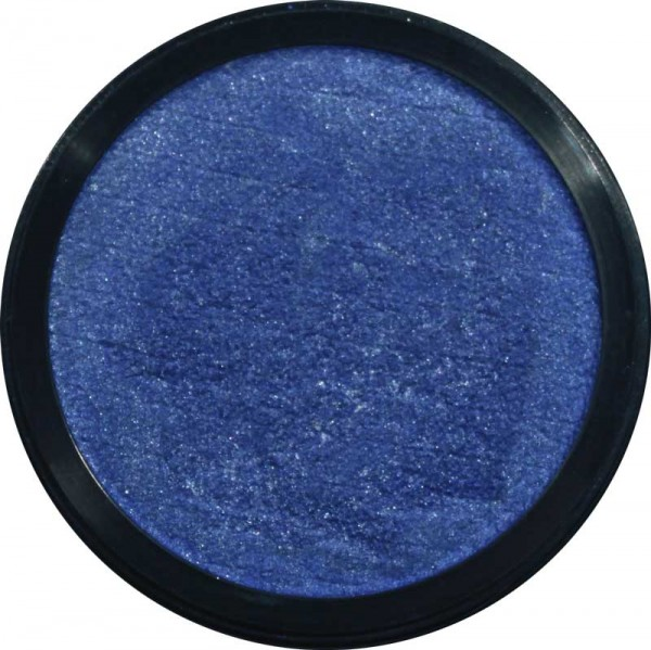 12 ml Profi Aqua Make Up Perlglanz Meeresblau Eulenspiegel