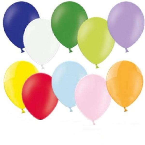 Bunte Luftballons gemischt