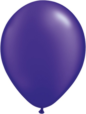 "Qualatex Pearl Quartz Purple 12,5cm 5"" Luftballon"
