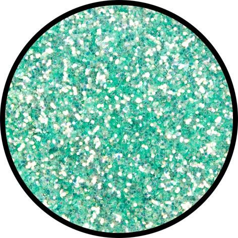 12 g Eulenspiegel Polyester Streu Glitzer Frosted Green