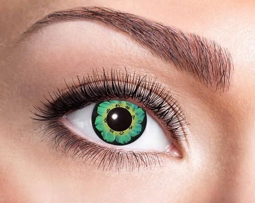Eyecatcher Fantasy 12 Monatslinsen Green Flower
