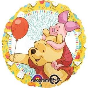 Winnie Pooh und Ferkelchen Party Folienballon