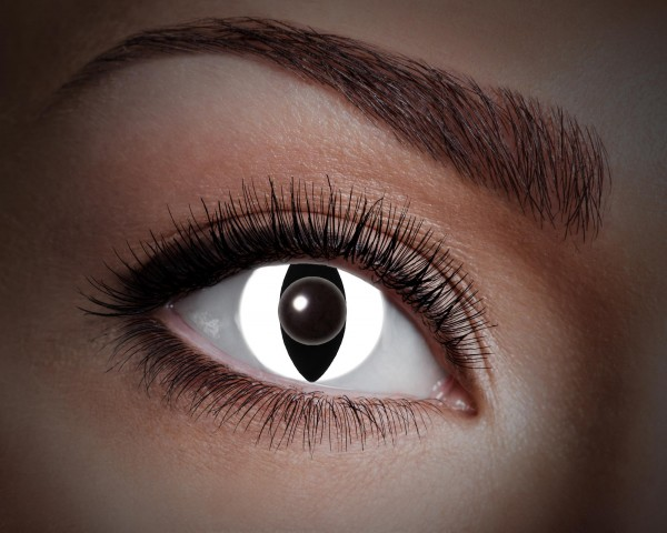 Eyecatcher UV Flash 1 Monatslinsen Black cat