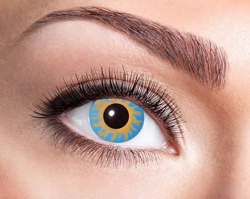Eyecatcher Fantasy 12 Monatslinsen Magic Blue