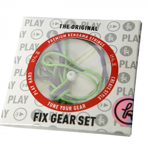 Kendama Fix Gear Set green/purple