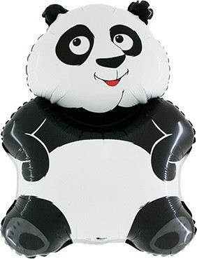 Panda Bär Folienballon - 74cm