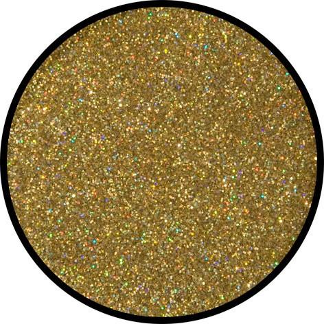 12 g Holographischer Streu Glitzer Gold Juwel Fein