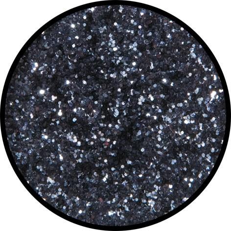 2 g Eulenspiegel Polyester Streu Glitzer Gunmetal (Anthrazit)