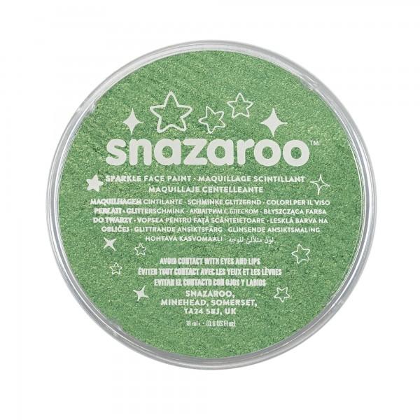 Snazaroo Schminkfarbe Schimmernd Blassgrün 18 ml