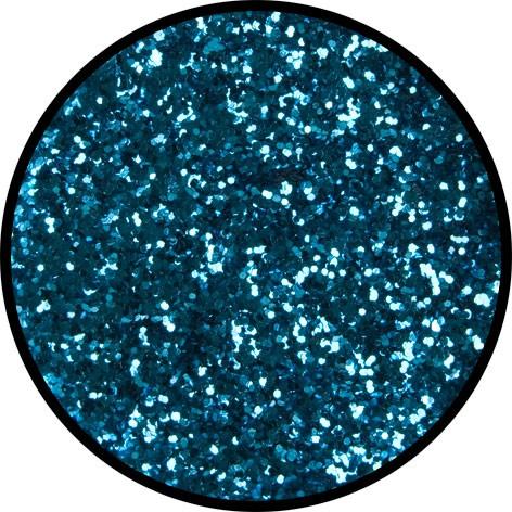 6 g Eulenspiegel Polyester Streu Glitzer Himmelblau