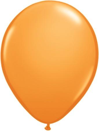 Latex Luftballons Standard Orange (Orange) 10St. - 27,5 cm