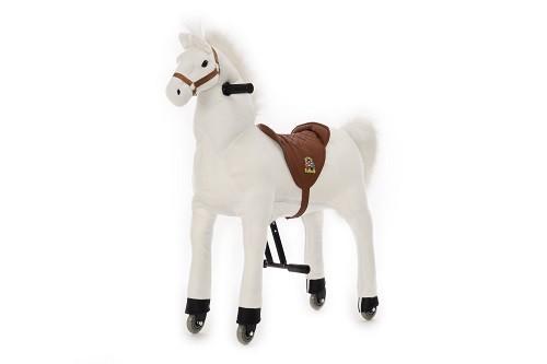 Animal Riding Pferd Snowy - weiß / Small