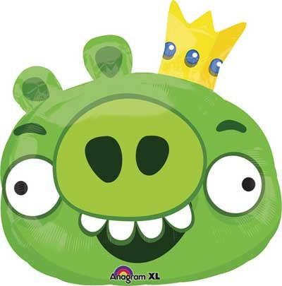 Angry Birds King Pig Folienballon - 58cm