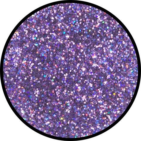 6 g Holographischer Streu Glitzer Lavendel Juwel