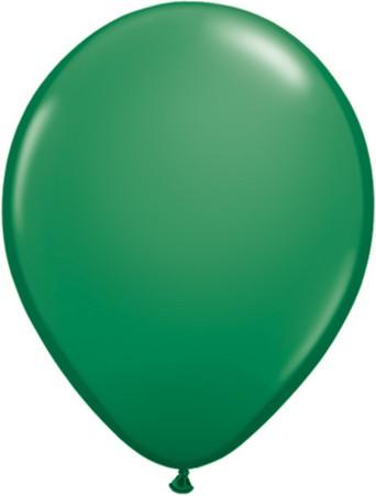 Latex Luftballons Standard Green (Grün) 10St. - 27,5 cm