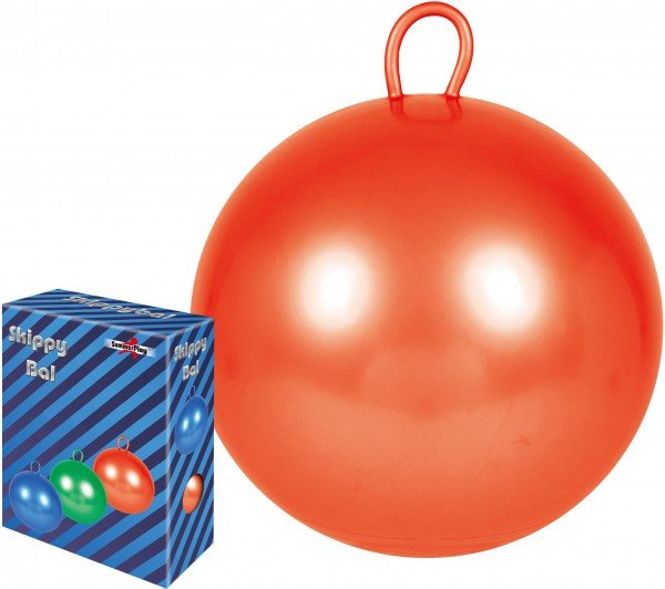 Skippy Hüpfball rot