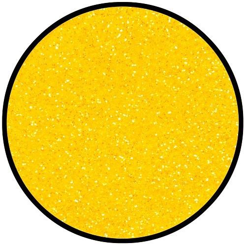 Tattoo Streu Glitzer Candy Yellow 6 g Eulenspiegel