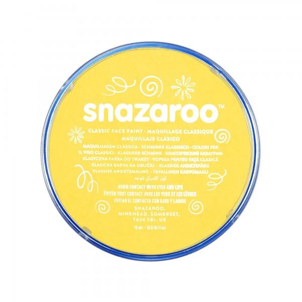Snazaroo Schminkfarbe Leuchtendgelb 75 ml