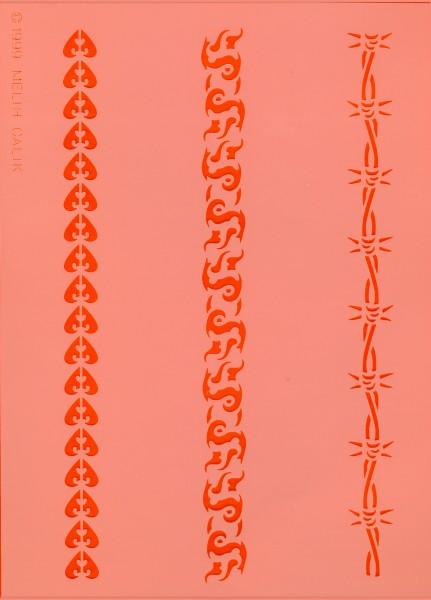 Airbrush Schablone Stripes I Eulenspiegel