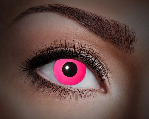 Eyecatcher UV 12 Monatslinsen Pink