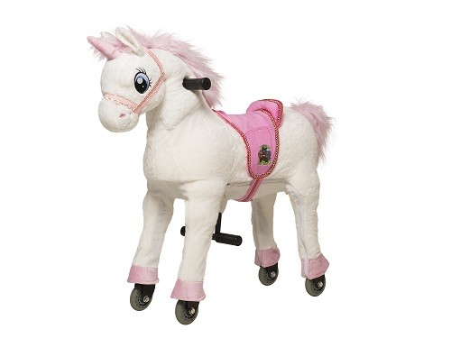 Animal Riding Einhorn White - Small, inklusive Decke