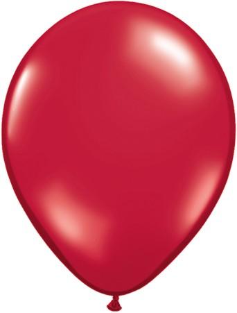 MiniLuftballons in Jewel Ruby Red - 12,5cm