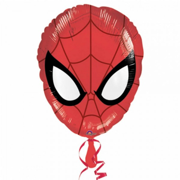 Mini Folienballon Spiderman Kopf