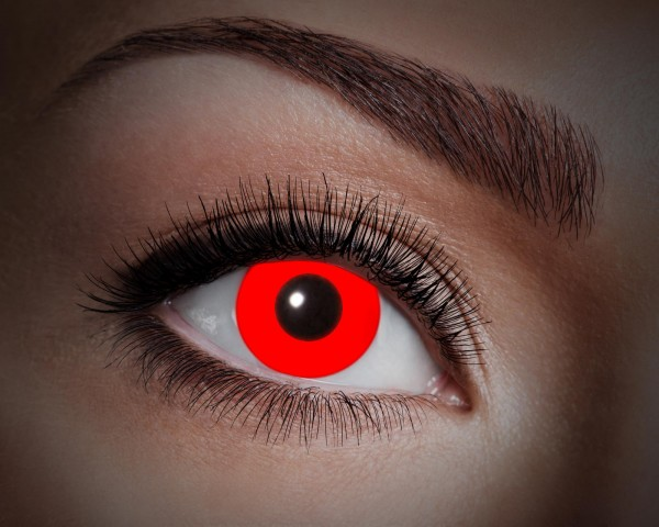 Eyecatcher UV Flash 1 Monatslinsen Flash red