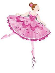 Ballerina Pink Folienballon