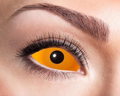 Eyecatcher Sclera 6 Monatslinsen Orange Eye