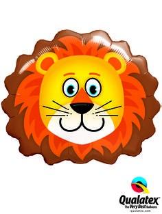 Löwen Kopf Folienballon