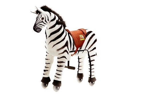 Animal Riding Zebra Marthi - Small