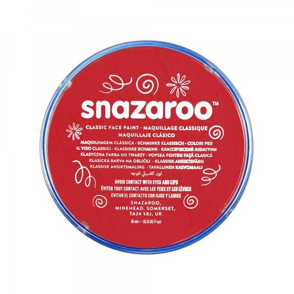 Snazaroo Schminkfarbe Leuchtendrot 18 ml