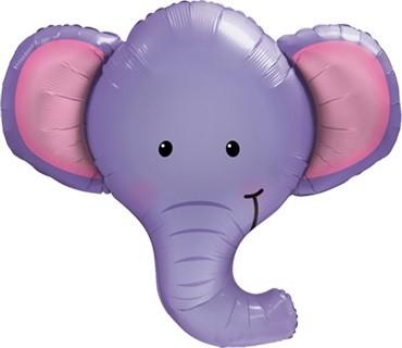 Elefant Ellie Folienballon