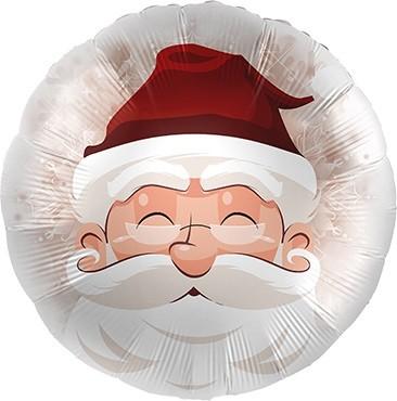 Santa / Weihnachtsmann Folienballon