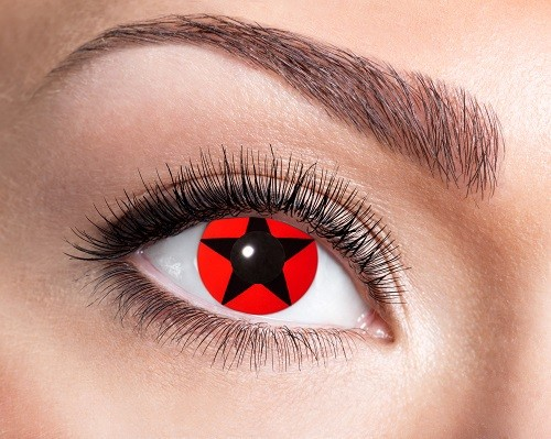 Eyecatcher Fantasy 12 Monatslinsen Red Star
