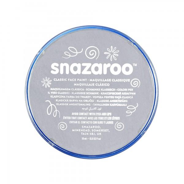 Snazaroo Schminkfarbe Hellgrau 18 ml