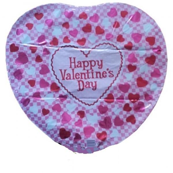 Valentinstag Herz Folienballon - 45 cm