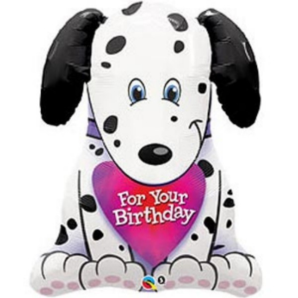 Hund - For your Birthday Folienballon - 79cm
