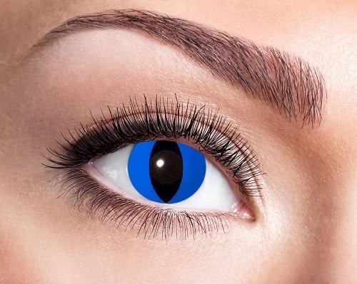 Eyecatcher Fantasy 12 Monatslinsen Blue Cat