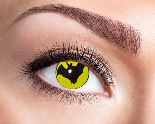 Eyecatcher Fantasy 12 Monatslinsen Bat Yellow