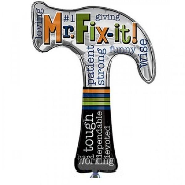 Hammer Mr. Fix it Folienballon - 88cm