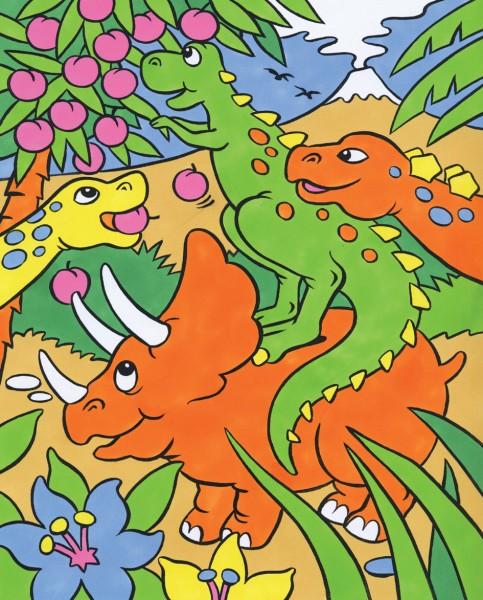Reeves Malen nach Zahlen Dinosaurier