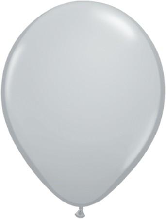 MiniLuftballons in Fashion Grey (Grau) - 12,5cm