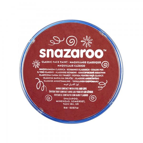 Snazaroo Schminkfarbe Burgunder 18 ml
