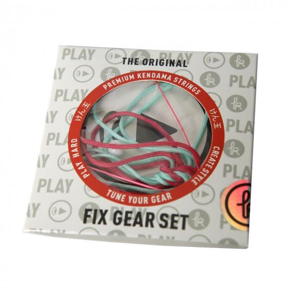 Kendama Fix Gear Set aquamarine/pink