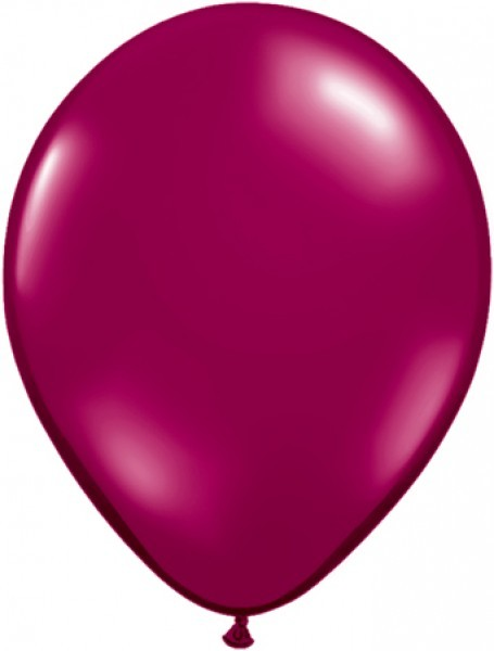MiniLuftballons in Jewel Sparkling Burgundy - 12,5cm