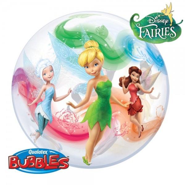 "Qualatex Bubble Feen Fairies 22"" 56 cm Luftballon"