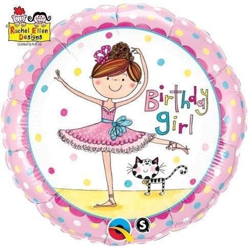 Ballerina Folienballon - 45cm