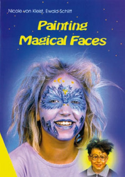 "Book "" Painting Magical Faces "" - only in English !"